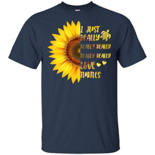 Load image into Gallery viewer, Sunflower - I Just Really Love Turtles Shirt