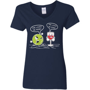 Tennis And Wine - She Loves Me More Shirt