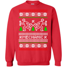 Load image into Gallery viewer, Mechanic Christmas Sweater