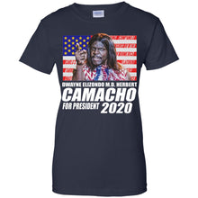 Load image into Gallery viewer, Dwayne Elizondo M.D Herbert Camacho For President 2020 Shirt.