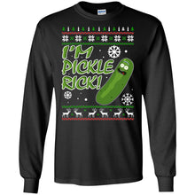 Load image into Gallery viewer, I'm Pickle Rick Christmas Sweater