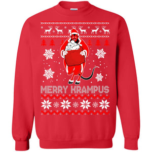 Merry Krampus Christmas Sweater