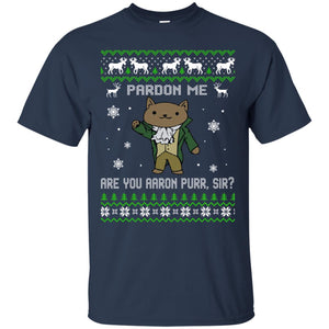 Pardon Me - Are You Aaron Purr Christmas Sweater