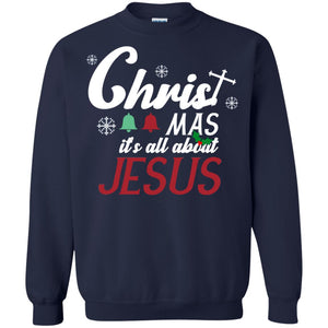 Christmas It's All About Jesus Shirt