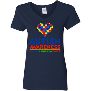 Autism Awareness Accept Understand Love Shirt