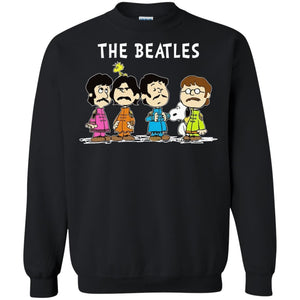 Snoopy And The Beatles Shirt