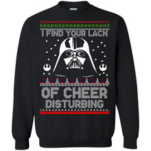 Load image into Gallery viewer, Jedi - I Find Your Lack Of Cheer Disturbing Christmas Sweater