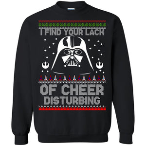 Jedi - I Find Your Lack Of Cheer Disturbing Christmas Sweater