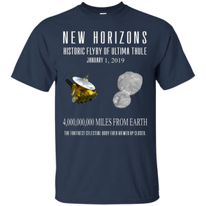 New Horizons Historic Flyby Of Ultima Thule Shirt