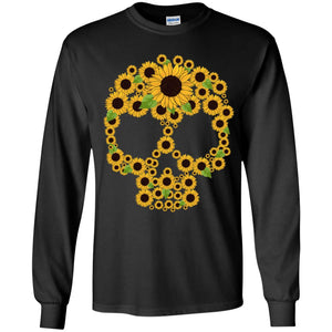 Sunflower Skull Shirt