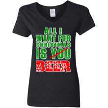 Load image into Gallery viewer, All I Want For Christmas Is Beer - Not You Shirt