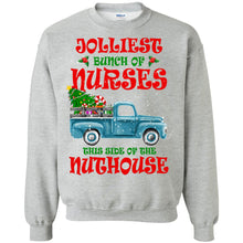 Load image into Gallery viewer, Jolliest Bunch Of Nurses This Side Of The Nuthouse Shirt