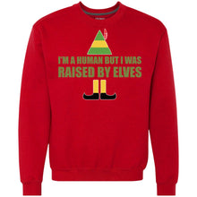 Load image into Gallery viewer, Buddy The Elf - I'm A Human But I Was Raised By Elves Shirt