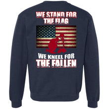 Load image into Gallery viewer, We Stand For The Flag - We Kneel For The Fallen Shirt
