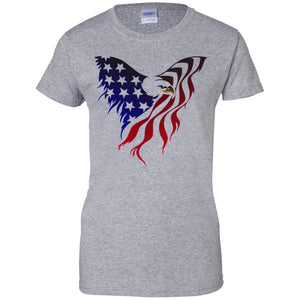 America Eagle Flag Shirt