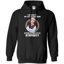 Load image into Gallery viewer, I Am Walter My Level Of Sarcasm Depends On Your Level Of Stupidity Shirt