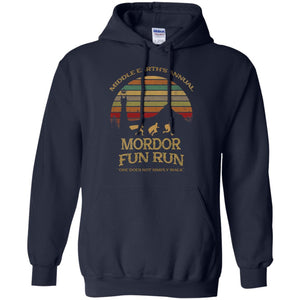 Middle Earth's Annual Mordor Fun Run Shirt
