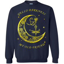 Load image into Gallery viewer, Butterfly And Moon - Hello Darkness My Old Friend Shirt
