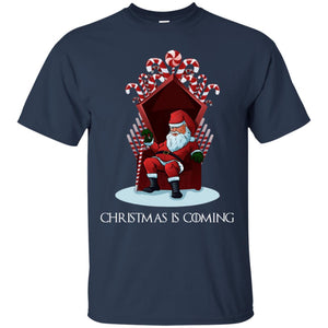 Game Of Thrones Santa - Christmas Is Coming Shirt