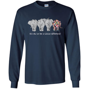 Elephant - It's Ok To Be A Little Different Shirt