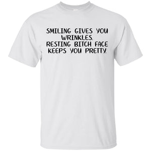 Smiling Gives You Wrinkles Shirt