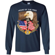 Load image into Gallery viewer, Home Of The Free - Because Of The Brave Shirt