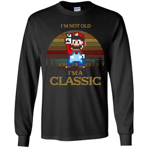 Super Mario Vintage - I'm Not Old I'm A Classic Shirt