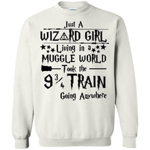 Load image into Gallery viewer, Just A Wizard Girl Living In A Muggle World Shirt
