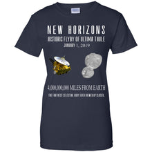 Load image into Gallery viewer, New Horizons Historic Flyby Of Ultima Thule Shirt