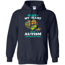 Load image into Gallery viewer, A Big Piece Of My Heart Has Autism Shirt