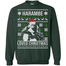 Load image into Gallery viewer, Harambe Loved Christmas Sweater