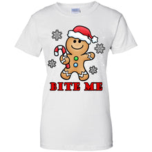 Load image into Gallery viewer, Gingerbread Man - Bite Me Shirt