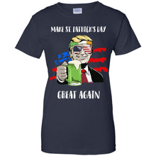 Load image into Gallery viewer, Trump - Make St Patrick's Day Great Again Shirt