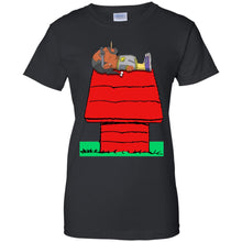 Load image into Gallery viewer, Snoop Dogg - Snoopy Sleep Shirt