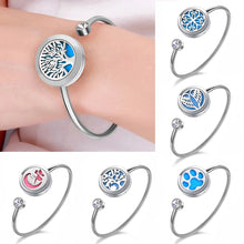 Load image into Gallery viewer, Aroma Jewelry Perfume Diffuser Locket Bracelet