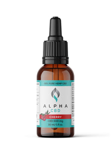 Alpha CBD - 30ml 600mg (Cherry)