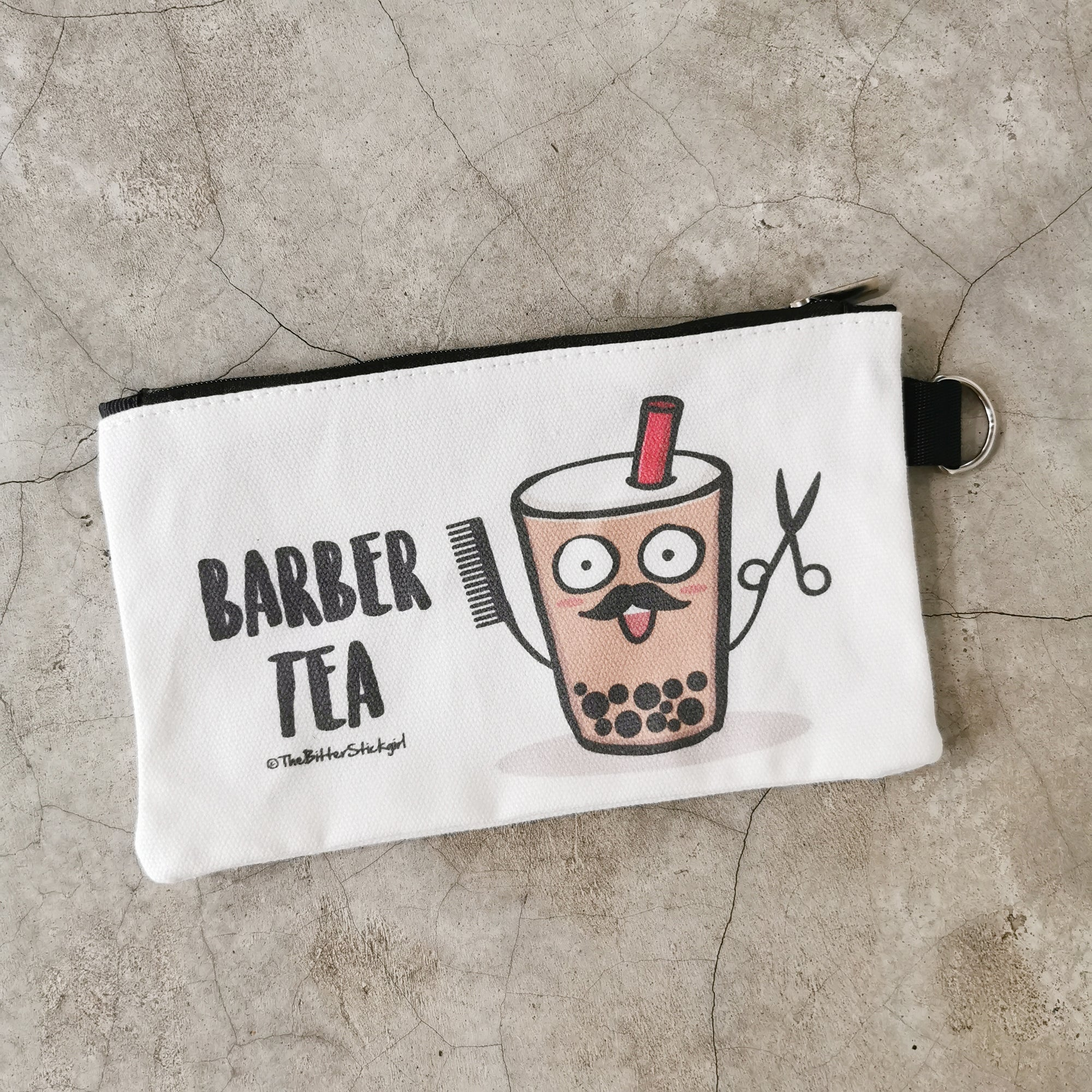 欠扁 Pouch -Barber Tea