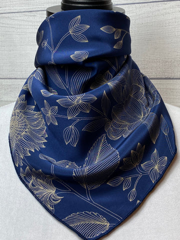 The Marisol Silk Neckerchief