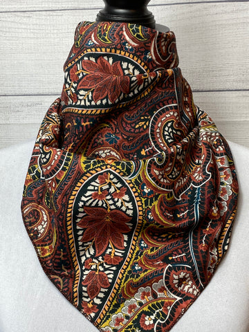 The Dilkon Paisley Cotton Voile Bandana