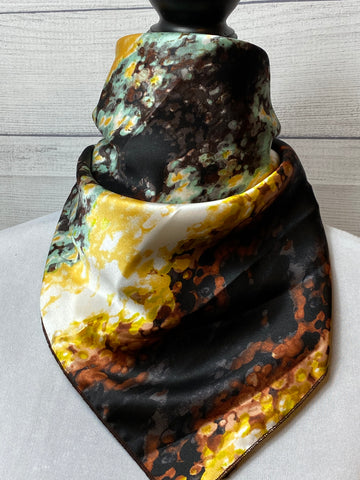 The Havasu Trail Silk Neckerchief