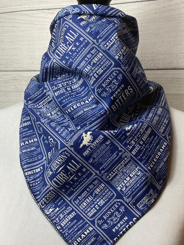 The Old West News Cotton Bandana
