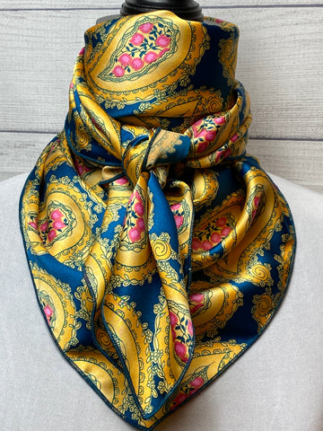 *Special Edition* The Belle Paisley Silk Rag