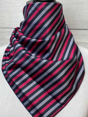 The Ludwig Striped Cotton Neckerchief