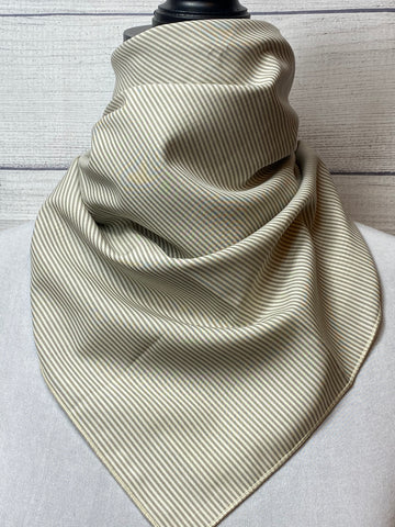 The Marlon Silk & Cotton Neckerchief