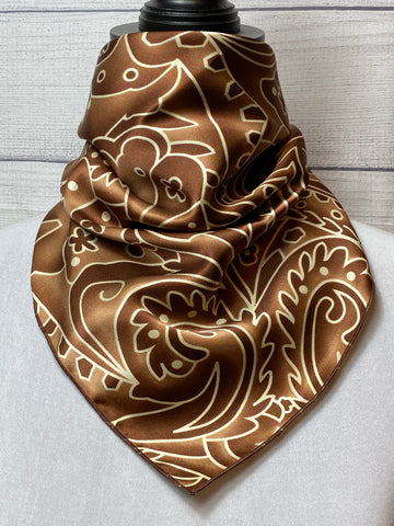 The Bourbon Silk Neckerchief