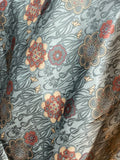 The Linden Floral Silk Large Rag