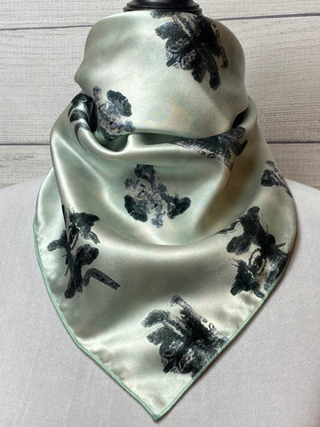The Griffin Silk Neckerchief
