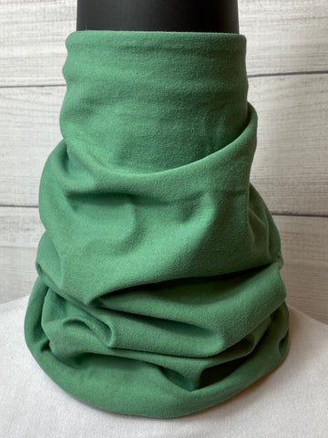 Solid Sage Lightweight Cotton Neck Gaiter