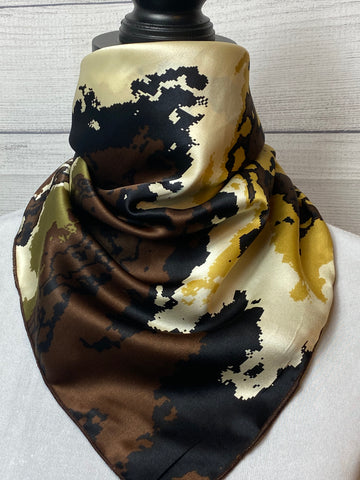 The Madera Canyon Silk Neckerchief