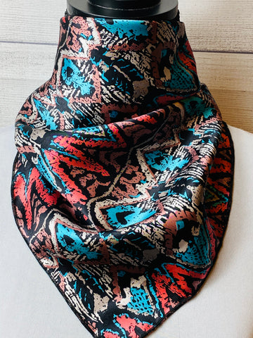The Santa Fe Silk Neckerchief